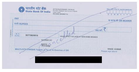 Pnb Bank Letterhead 10 Reasons To Cancel A Cheque Accounting Education