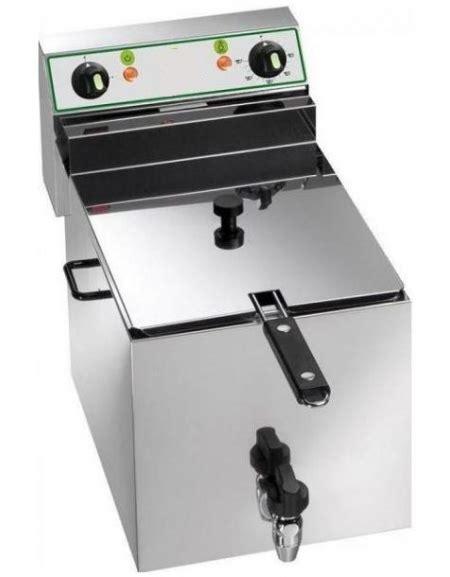 friggitrice da banco friggitrice da banco elettrica 1 vasca con rubinetto di