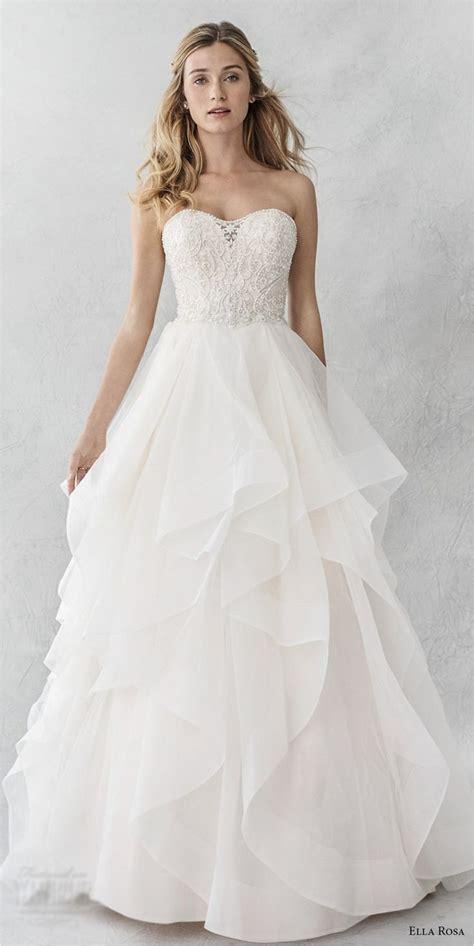 Wedding Dresses Ideas by Best 25 Layered Wedding Dresses Ideas On