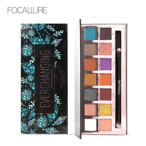 Focallure Tropical Vacation Eyeshadow Palette focallure 14colors eyeshadow palette matte glitter shimmer