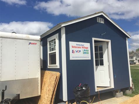 helping homeless veterans tiny home for veterans