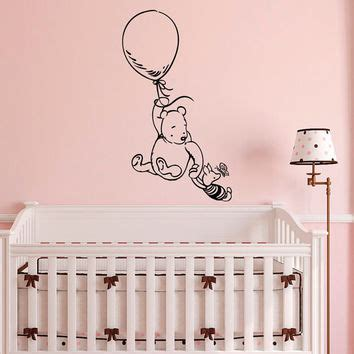 classic winnie the pooh wall stickers for nursery fabwalldecals on etsy on wanelo