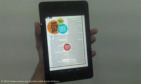 Pasaran Tablet Android jualan tablet android meningkat drastik pada suku tahun