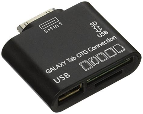 Galaxy Tab Otg Connection c e usb otg connection kit and card reader for samsung galaxy import it all