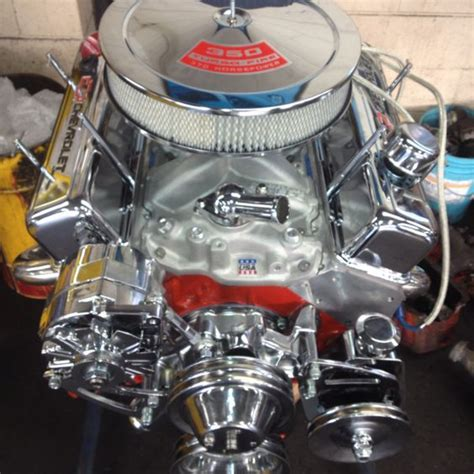 350 motor chevy a chevy 350 engine chromed out custom engines