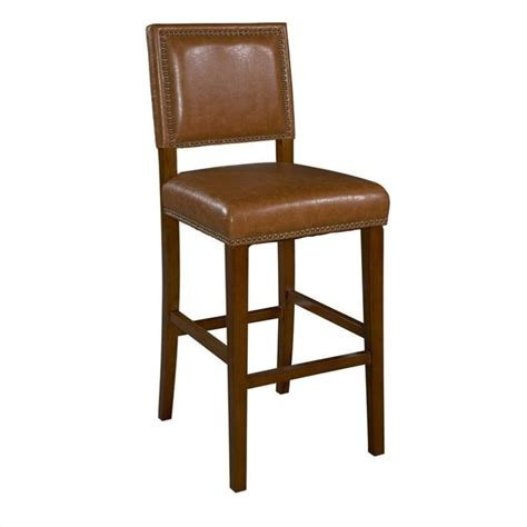 24 Inch Bar Stool Brook 24 Quot Counter Stool In Brown And Caramel 0232carm 01 Kd U