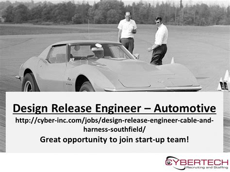 design release engineer yazaki design release engineer automotive start up cybertech