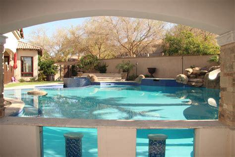 Backyard Grill Company Swim Up Bars Swimming Pool Bars Phoenix Landscaping