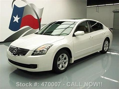 nissan altima sunroof purchase used 2007 nissan altima 2 5 sl sunroof htd seats