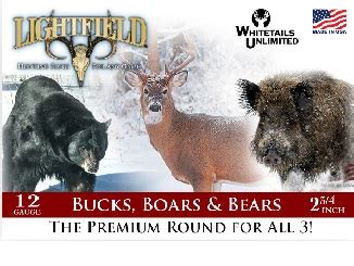 new buck 12 new buck boars bears premium 12 ga rounds