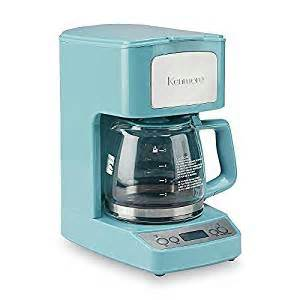 colored coffee makers light blue coffee maker 5 cup freshly brewed