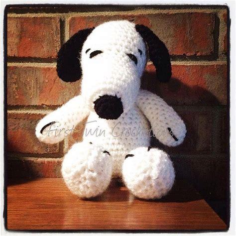 amigurumi snoopy pattern snoopy amigurumi toy crochet pattern peanuts snoopy