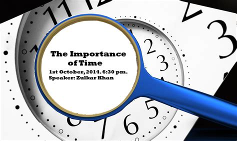 of time the importance of time brothers halaqah islam on cus