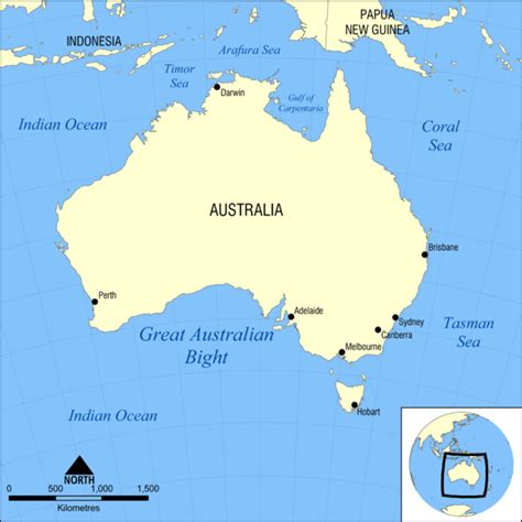 australia sea map great australian bight