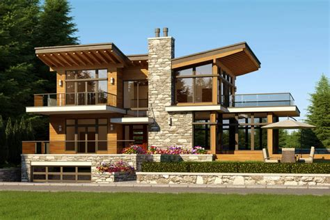west coast contemporary home design house design ideas