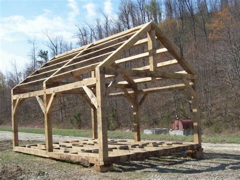 Timber Frame Cabin Plans by Timber Frame Store