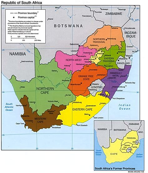south africa map abc maps of south africa