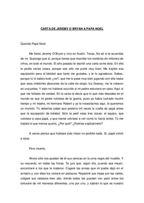 la carta para papa 1481278576 carta de jeremy o bryan a papa noel