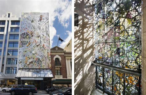 winter garden building department studio 505 s textured wintergarden facade in brisbane is