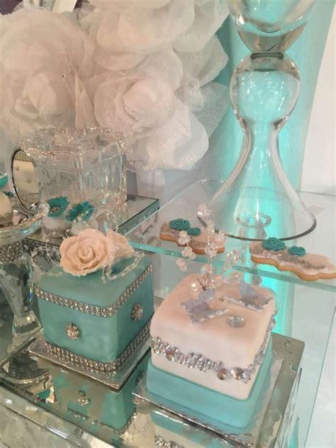 Tiffany Quinceañera Party Ideas   Tiffany & Co party ideas