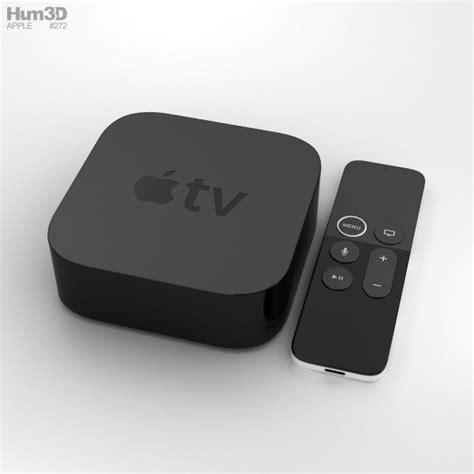 apple tv 4k apple tv 4k 3d model hum3d