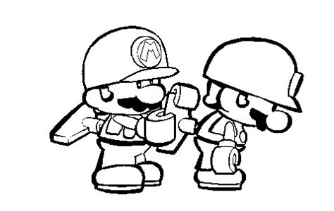 mini mario coloring pages color me mini mario winding another mini mario by marios
