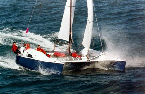 blade runner catamaran for sale nz mehrrumpfboot werften designer konstrukteure
