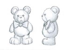 teddy bear concept art sketch by wlodarczykmaciej on