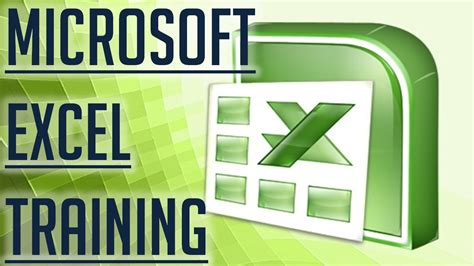 free excel tutorial image gallery excel training
