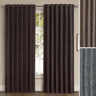 back tab panel curtains brielle home roma back tab curtain panel 14785171