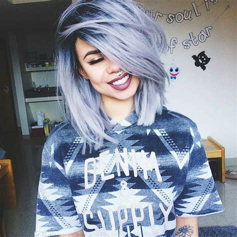 hair styles for gray roots 28 crazy hairstyles ideas you must see now crazy