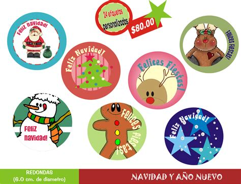 imagenes navidad redondas desde 0 etiqueta tu navidad