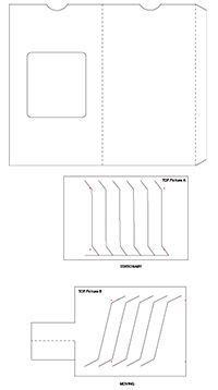Dissolving Picture Card Template by Dissolving Card 1 This Is The Template For The Changing