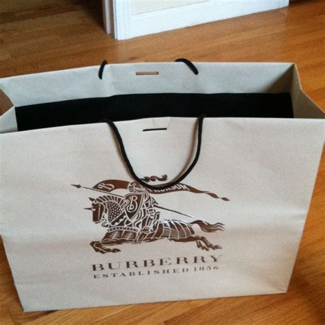 Burberry Paperbag burberry burberry paper gift bag from s closet on poshmark