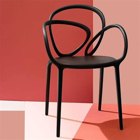 Sedia Design by Loop Chair Sedia Di Design Qeeboo In Polipropilene