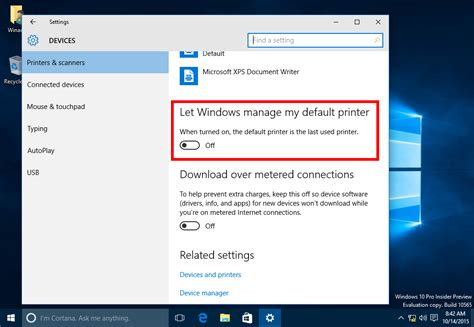 resetting windows vista to earlier date how to stop windows 10 from changing the default printer