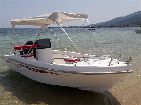 rent a boat vourvourou prices alexander 30hp eboathire
