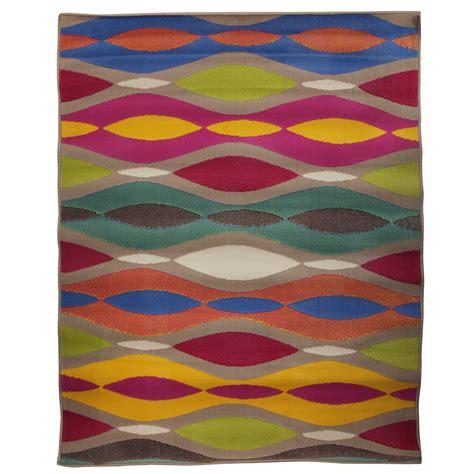funky area rugs retro funky twist vintage oval patterned area rug ebay