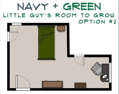 room to grow stout design navy green room to grow e design