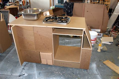 lightweight cabinets for rv our promaster cer conversion galley build a