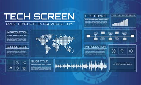 Technology Prezi Templates Collection Prezibase Technology Templates