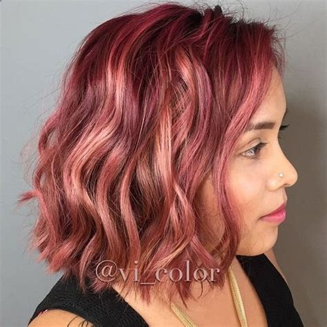 how to get marsala as a hair color instyle inspired by pantone s color of the year 2015 this rosy