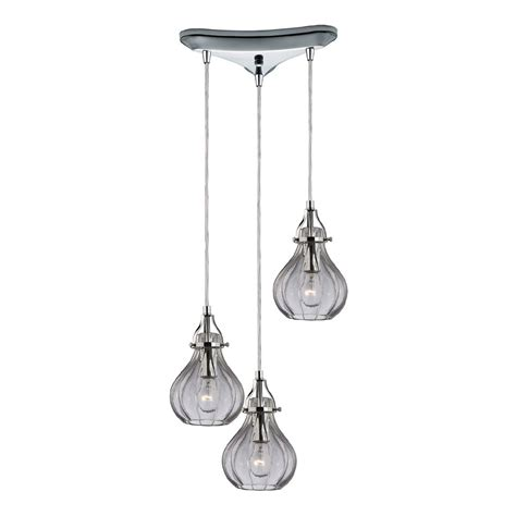 elk 46014 3 danica modern polished chrome multi ceiling