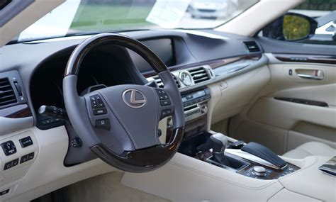 how cars run 2005 lexus gs interior lighting file lexus ls 2013 launch cannes vehicle interior front jpg wikimedia commons