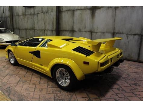 free car manuals to download 1988 lamborghini countach on board diagnostic system 1988 lamborghini countach 13890 miles yellow 12 cylinder 5 speed manual for sale in local pick