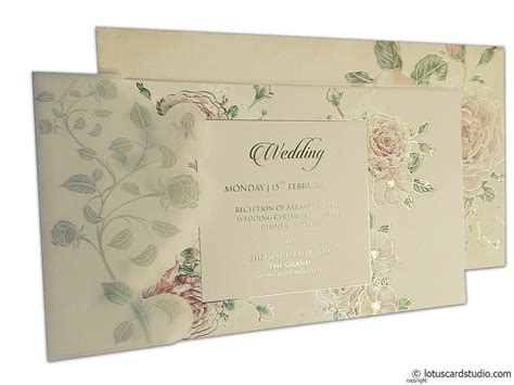 wedding invitations order from india pink wedding card