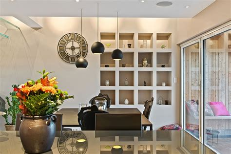 square pendant light kitchen contemporary with city view luxurious loft apartment in stockholm with scandinavian design