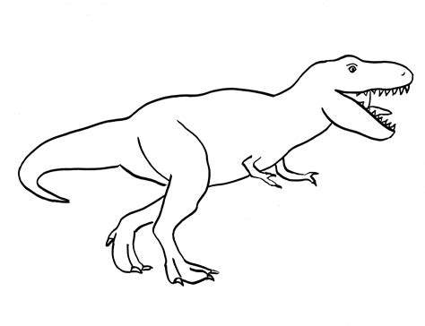 Drawing T Rex by Simple T Rex Drawing Coloring Pages How To Draw A T Rex