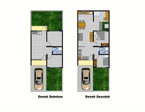 jenis desain rumah modern ukuran  yg terbaik arsitektur indonesia