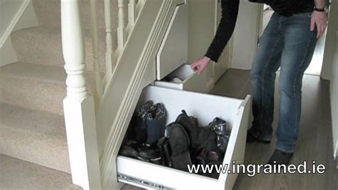 understairs shoe storage unit understairs storage in dublin ireland